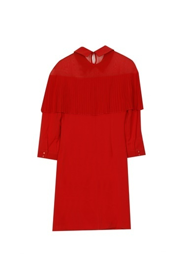 Jus De Pommes Elbise Kırmızı